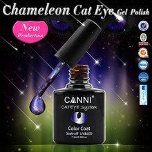 CANNI Chameleon Magic Change Gel Nail Polish 3D Colorful Phantom Long-lasting Soak UV Varnishes - timtimng store