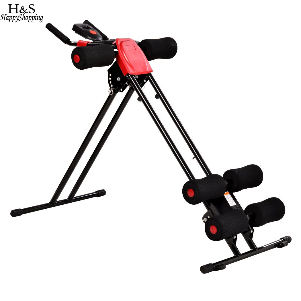 2016 New Abdominal Trainer AB Rollers Coaster Twister Entire Body Exercise Fitness Training Machine for home / Gym