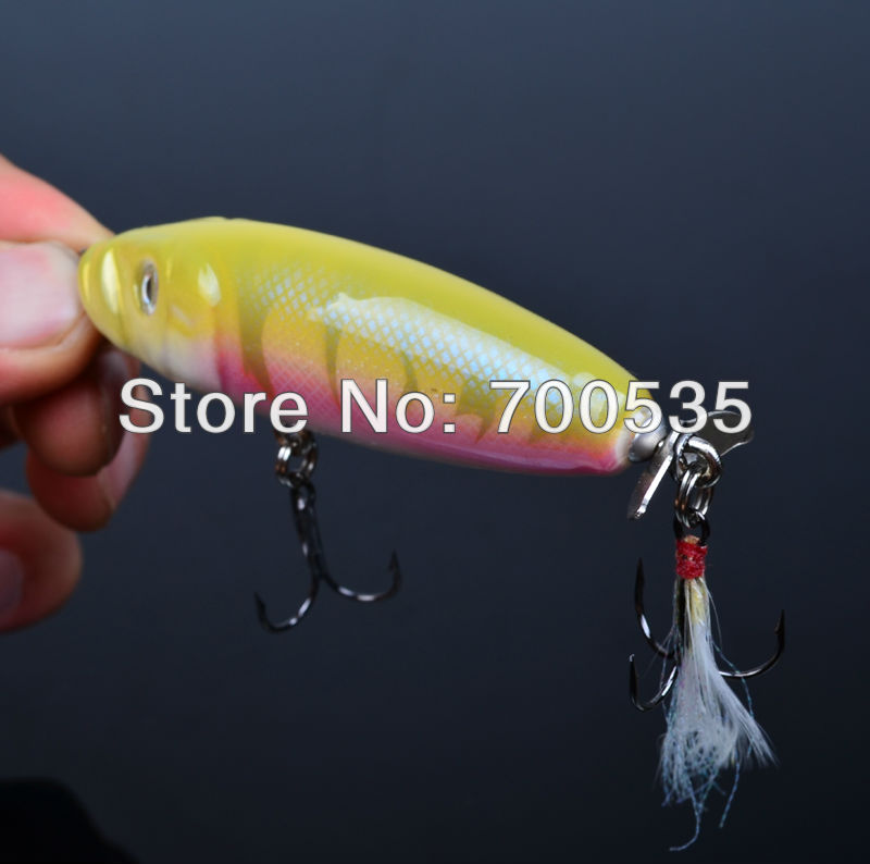 1PC 8cm/17.2g Wood Lure SUNLURE DW-WD10 Wood bait Exported to USA Market Wood Fishing Lures Retail Box Free Shipping(China (Mainland))
