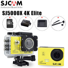 "Buy Original SJCAM SJ5000X Elite 4K 24fps 2K 30fps WiFi 2.0"" LCD Gyro Diving 30m Waterproof Bicycle Mini Outdoor Sport Action Camera for $135.99 in AliExpress store"