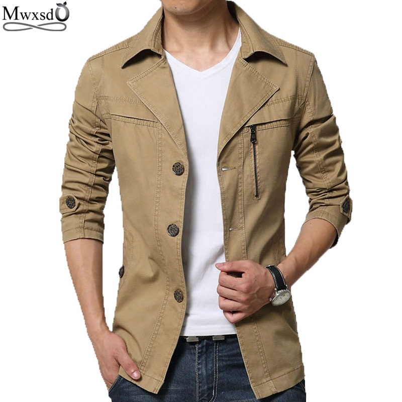 2016 high quality Casual brand men <font><b>Jacket</b></font> spring mens cotton <font><b>jackets</b></font> men's long sleeve <font><b>jacket</b></font> manteau homme