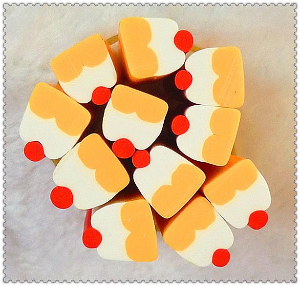 Nail art clay bar Large diy material clay bar cake series