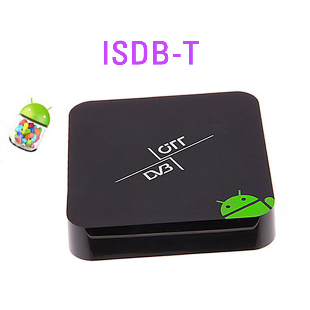 lots,Dual core Android tv box ISDB-T receiver for Brazil World Cup,smart tv iptv Top Set ISDB T tuner,XBMC multi Media Player(China (Mainland))