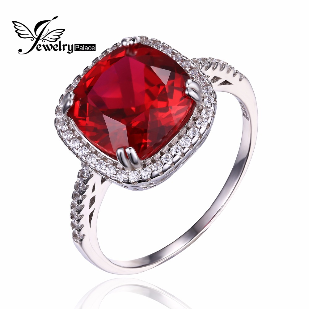 Aliexpress Buy JewelryPalace Christmas Gift 6ct Brand New Gemstone Pigeon Blood Red Ruby