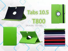 Pour Samsung Galaxy Tab S 10.5 polegada T800 / T801 / T805 Tablet PU housse en cuir