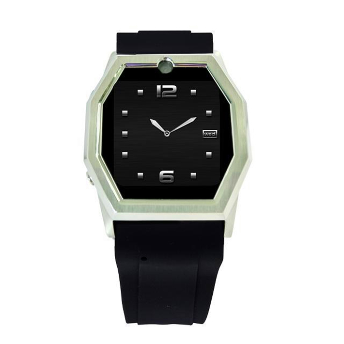 TW520 stainless steel GSM smart watch fashion wristwatch android/ios Color Black(China (Mainland))