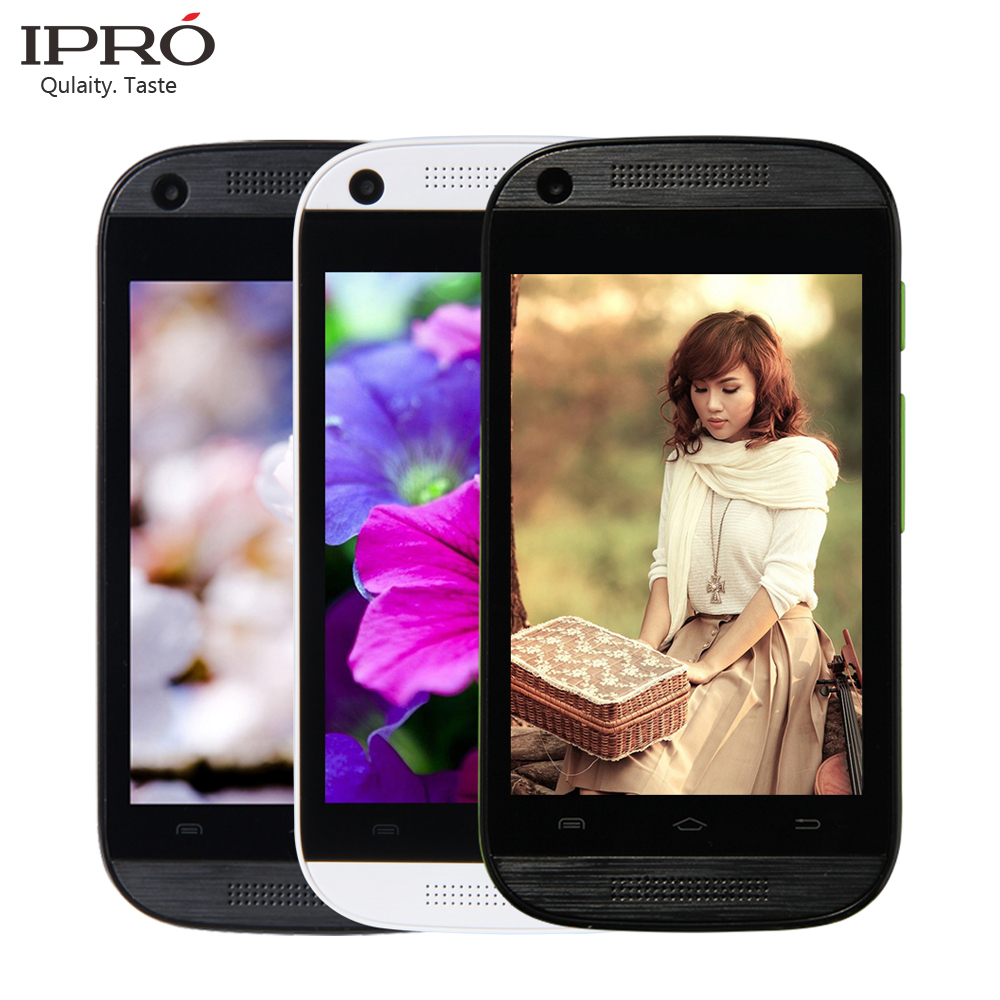 2016 Hot Brand IPRO Smart Phone MTK6571 2G/3G Smartphone Android 4.4 Mobile Phone Dual Core 3.5 Inch Smartphone Mobile Phone(China (Mainland))