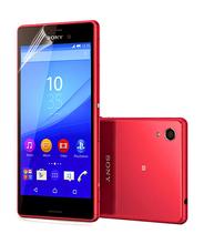 3 Pcs For Sony  Xperia M4 Aqua E2303 E2333 E2353  phone film PET material  HD touch screen protective screen protector