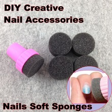 Nail Art Tools, Nails Soft Sponges For Color Fade Manicure, DIY Creative Nail Accessories Supply + Free Shipping (NR – WS1)