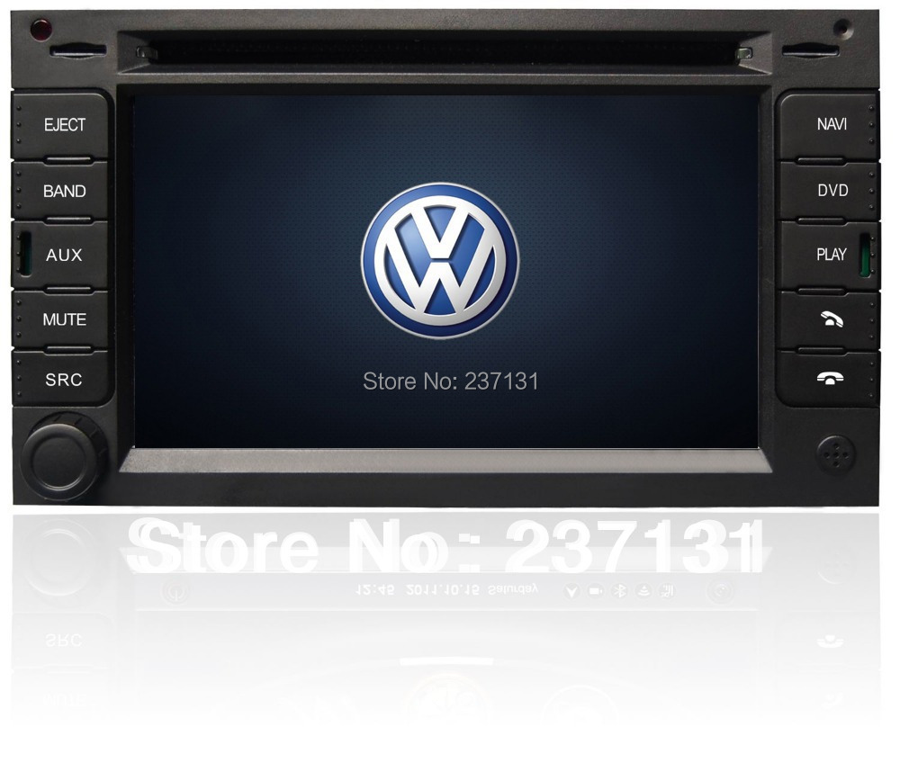 volkswagen vw passat b5 double din dvd player car autoradio gps sat nav with 3g a8 core in car. Black Bedroom Furniture Sets. Home Design Ideas