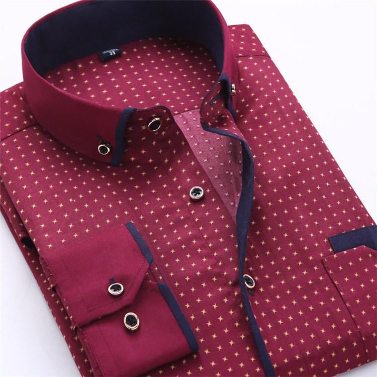 HTB1T5XqJVXXXXbvXFXXq6xXFXXXH - Big Size 4XL Men Dress Shirt 2016 New Arrival Long Sleeve Slim Fit Button Down Collar High Quality Printed Business Shirts M014