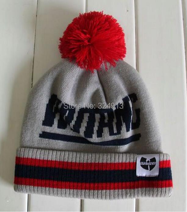 wu Tang Knit Hat New wu Tang Pom Beanie Knit