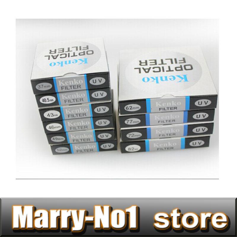 10pcs kenko UV Filter 40.5mm/46/37/49/52 for NEX-3N NEX-5N NEX-5R NEX-6 w/ 16-50mm & 1 J1 J2 J3 S1 V1 w/ 10-30mm 30-110mm Lens