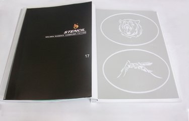 Airbrush tattoo Stencil book Template 17 PH-SB017 FREE SHIPPING<br><br>Aliexpress