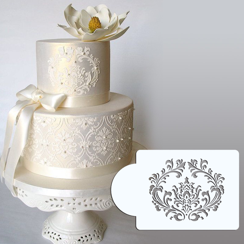 Cake Pattern Stencils : Aliexpress.com : Buy 3.75