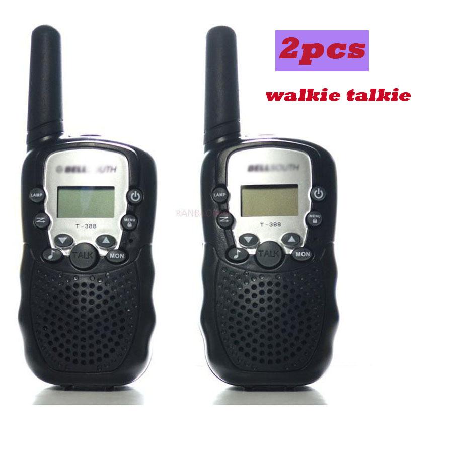 Portable Ham Radio Walkie Talkie 2pcs Portable 2 Two Way Mobile Radio Station Cb Radio Comunicador For Children UHF Walkietalkie(China (Mainland))