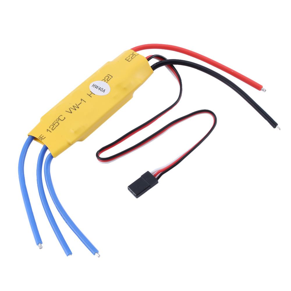 Rc helicopter 40a esc brushless motor speed controller in for Brushless motor speed control
