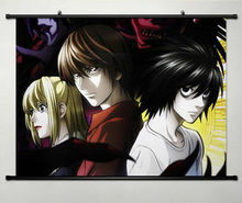 Home Decor Japanese Anime Wall poster Scroll DEATH NOTE L Anime Cosplay New 085