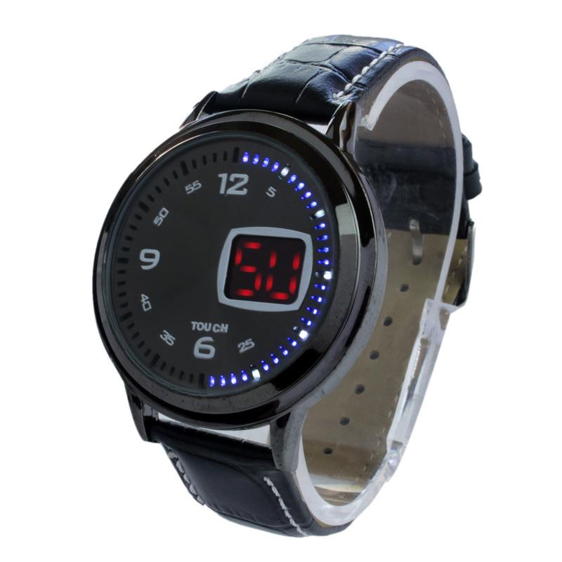 electronic 2015 new watches waterproof fashion led touch