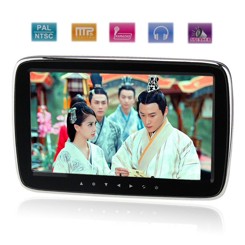 One Head Pillow Plug-in Car TV WIFI Mobile Internet 9 Inch MP5 HD Capacitive Touch(China (Mainland))