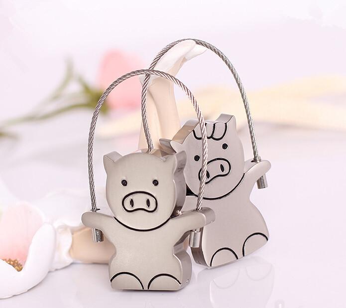 wholesale price stainless pig Usb flash drive 8GB16GB 32GB 64gb cute metal pig shape pen drive 100% real Usb creativo S813(China (Mainland))