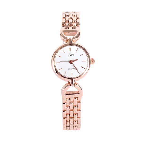 Fancy Lady Women Elegant Relojes Analog Quartz Relogio Watch Alloy Gold/Silver Bracelet WristWatch<br><br>Aliexpress