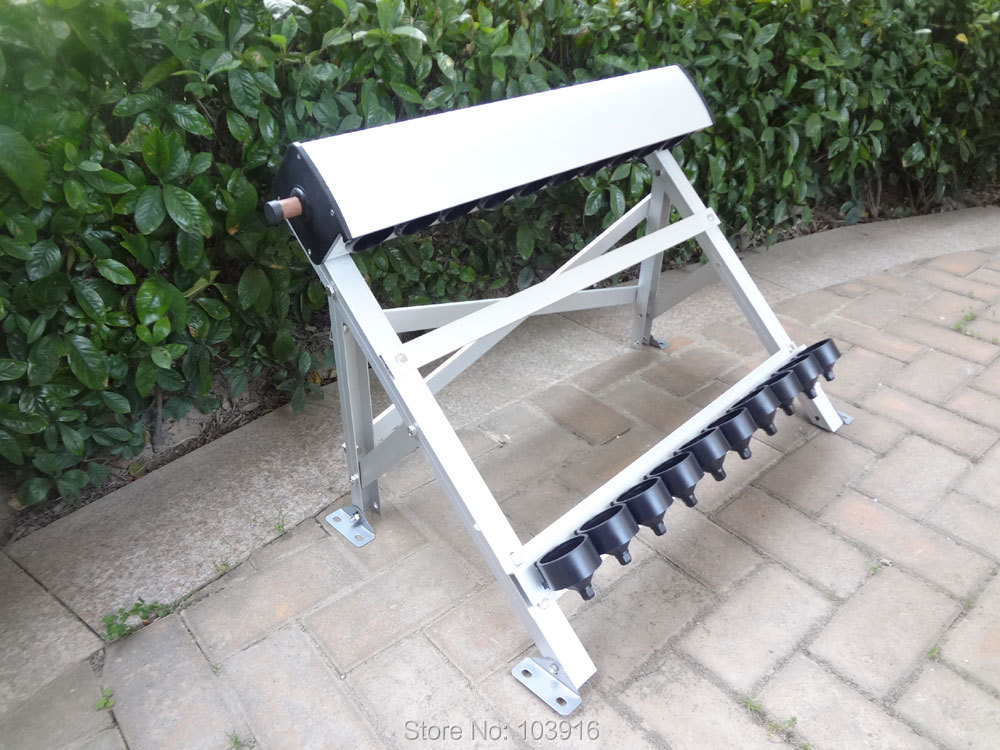 1 pcs of manifold with bracket for solar collector (tube 58*500mm), for solar water heater(China (Mainland))