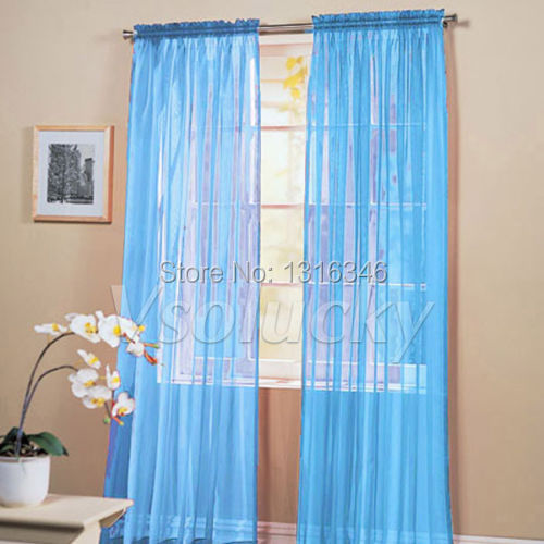 Decorating sheer panels for windows : Popular Sheer Panels for Windows-Buy Cheap Sheer Panels for ...