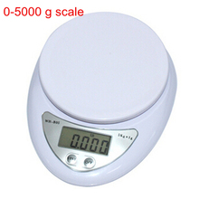 Accurate Digital Scale 5KG / 1G Household Kitchen Cooking Food Diet Grams OZ LB 5000g Electronic Bench balance Weighing Scales(China (Mainland))