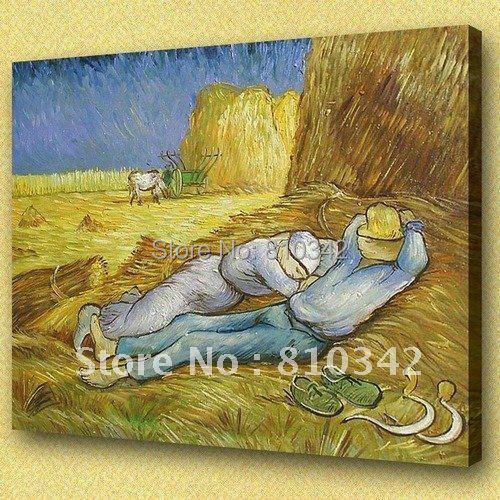 Van Gogh painting wall decoration scenery modern art Painting of office U2VG21(China (Mainland))