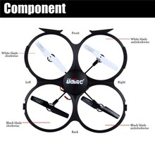 Hot sales! RC Quadcopter U818A UFO 4 CH 6 Axis Gyro with Camera RTF Mode best outdoors toy for fun 2.4GHz