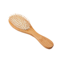 1PC High Quality Fashion Wooden  Hair Vent Brush Brushes Hair Care and Beauty SPA Massager Massage Comb