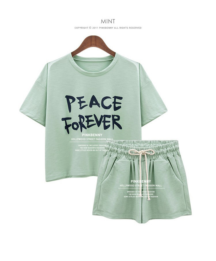 Women's Sets Short Sleeve T Shirt Tops And Shorts Sweat Suits Women Summer Tracksuits Runway Outfit Two Piece Sets Sporting Suit(China (Mainland))
