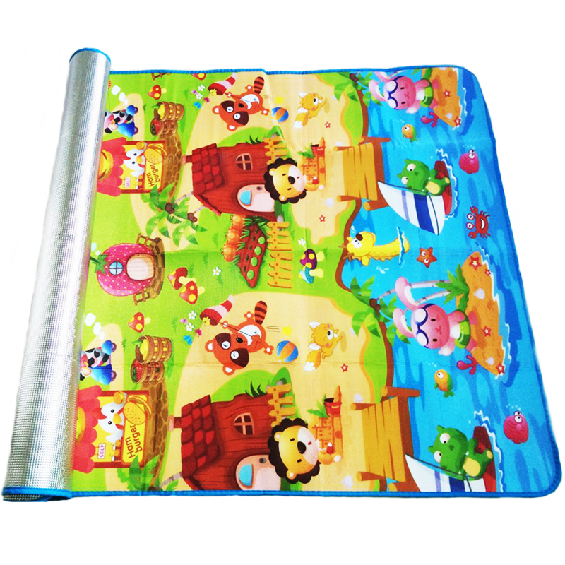 180*120*0.3cm Baby Crawling Play Puzzle Mat,Children Carpet Toy Kid Game Activity Gym Developing Rug Outdoor Eva Foam Soft Floor(China (Mainland))