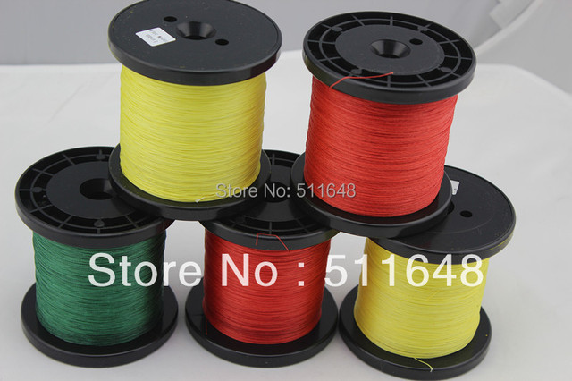 1000M/PCS 25LB  6 Strand PE Extreme BRAID FISHING LINE 3 COLOR  free shipping