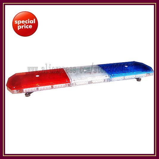 22*TIR-4 1W LED module, TBD-GA-10326K LED Lightbar, 18 flash patterns, waterproof, for ambulance/fire truck/police vehicle