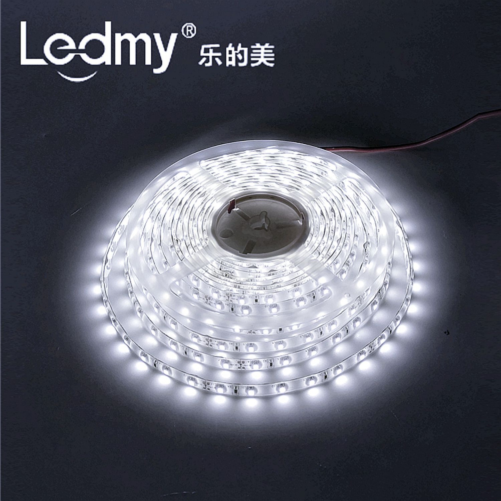 LEDMY DC12V Flexible Led Strip Light Lamp, Led Tape, SMD3528-300Leds, IP62 String Light (Cool White,6000K) 16.4FT/5M(China (Mainland))