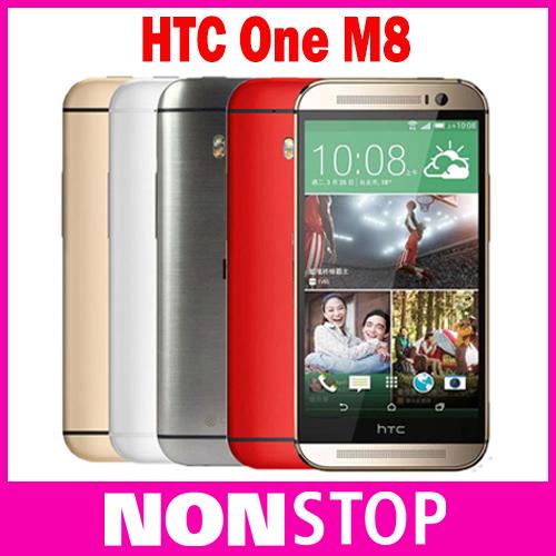 Оригинальный HTC One M8 Android Телефоны Quad Core 4 Г Сети LTE 2 ГБ RAM 16 ГБ Хранения 3 Камер Мобильных Телефонов