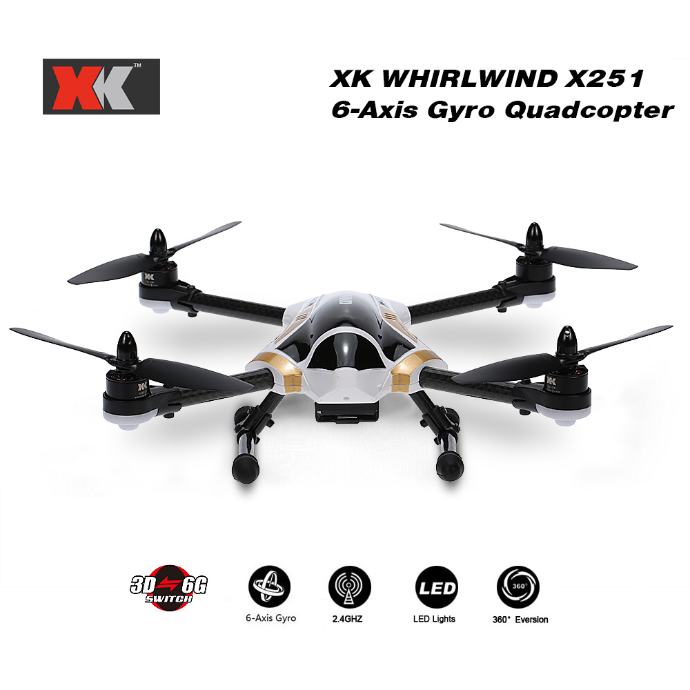 XK X251A Brushless 7.4V 950mAh 3D 6G Switch Remote Control RTF Classic Racing RC Quadcopter Kid Toys Drone with X7 Transmitter(China (Mainland))