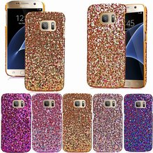 S7 Samsung Galaxy G9300 Sexy Nightclub Stars Shine Case back Cover Cases Shiny Patch TPU leather S7Case Covers 9300 SM 7s - E Shops store
