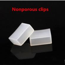 50 stücke Silicon clip, nicht porös endkappen verwenden für SMD 5050 3528 3014 5630 ws2801 ws2811 ws2812b wasserdichte led-streifen licht(China (Mainland))