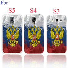 Vintage Russia Flag ProtectiveCase Cover for Galaxy S5 S4 S3  I9600 I9500 I9300 1PC