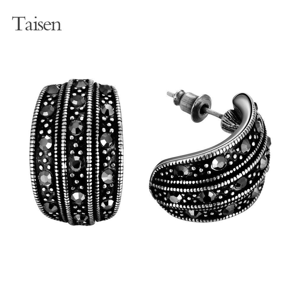 Beautiful Fashion Long Earrings For Women Black Earrings Vinage Dangle Earring