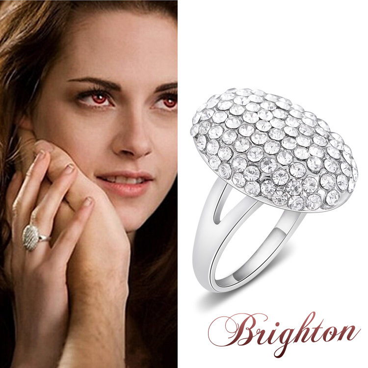 Dawn Ring Bella Wedding Crystal Jewelry Isabella Swan Twilight Bella ...