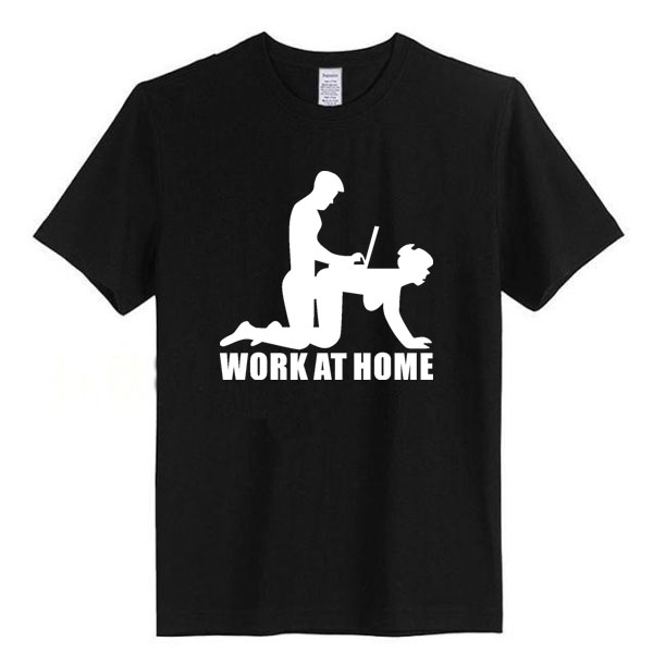 woke at home geek t shirt hispter t shirt funny design short sleeve top tees men love in t