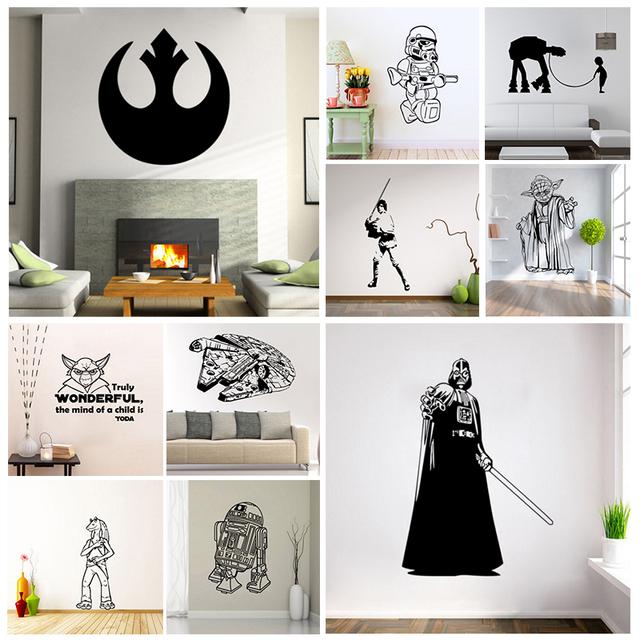 star wars stormtrooper darth vader vinyl wall stickers darth vader wall decal star wars stickers super hero vinyl