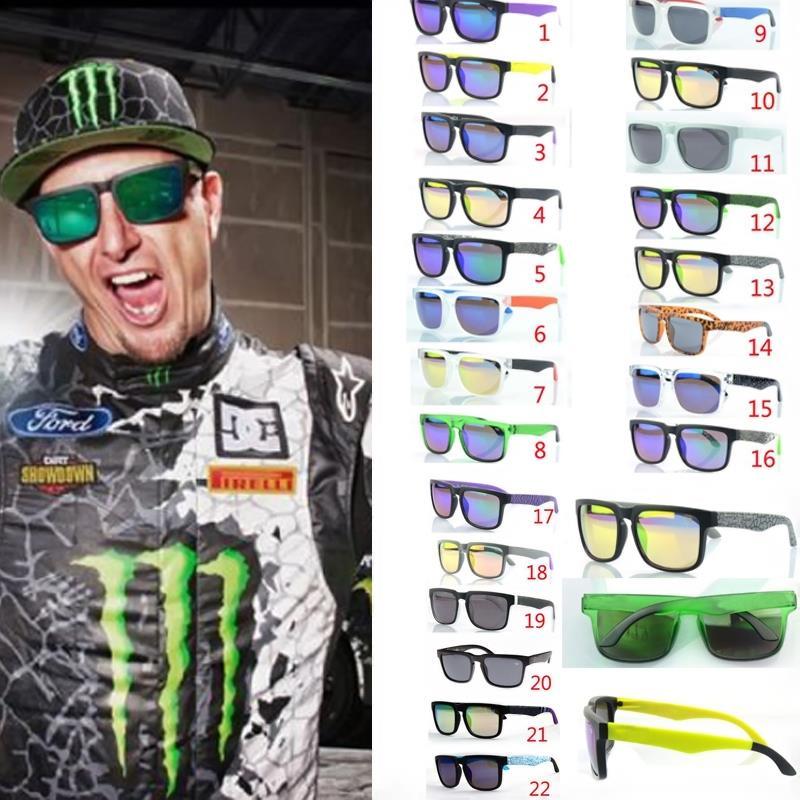 2015 most fashion NEW style ken block Sunglasses Men Brand designer Sunglasses sports Glasses men glasses 22 colors(China (Mainland))