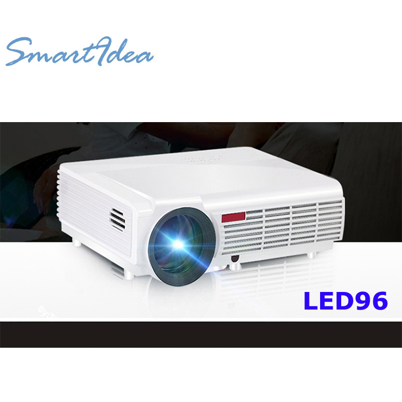 New arrival brightness 5500lumens long life led full hd for Projector tv reviews