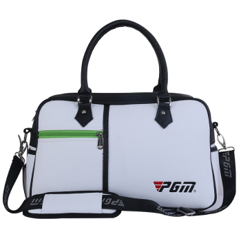 PGM New Golf Clothing Travel Bag Man Woman of Golf Shoes Bag Package Soft waterproof PU Large Capacity Golf Clothes Bag Black(China (Mainland))