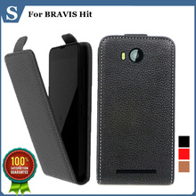 Buy Factory price, Top new style flip PU leather case open BRAVIS Hit, gift for $3.98 in AliExpress store